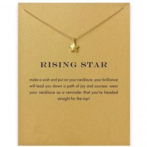 Jewelry - 4 for $25 RISING STAR PENDANT Gold NECKLACE